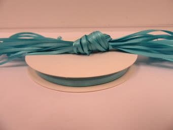 Light Turquoise Blue Satin ribbon Double sided, 3mm 7mm 10mm 15mm 25mm 38mm 50mm Roll Bow